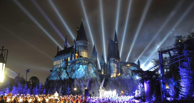 The Wizarding World Of Harry Potter Kick Off Celebration At Universal Studios Florida