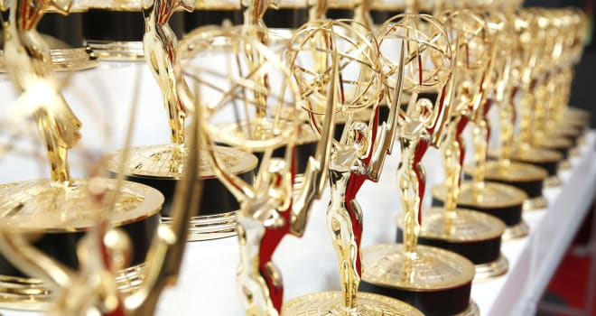 67th Primetime Emmy Awards - Trophy Table
