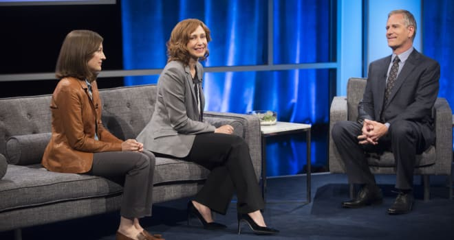 "Kelly Macdonald, Vera Farmiga in Netflix's ""Special Correspondents"""