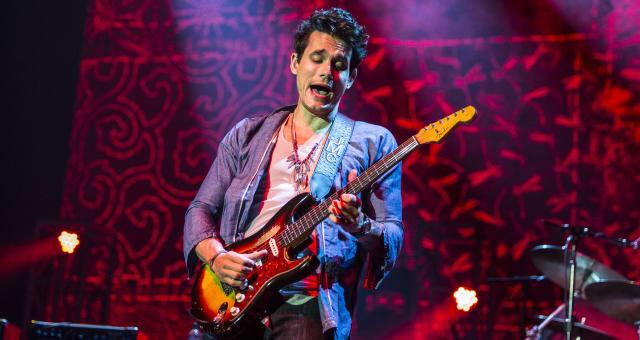 John Mayer Performs At O2 Arena In London