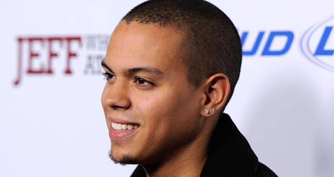 Evan Ross at the L.A. Premiere of 'Jeff, Who Lives at Home' on March 7, 2012