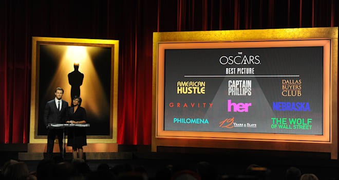 Oscars 2014 Best Picture Nominees