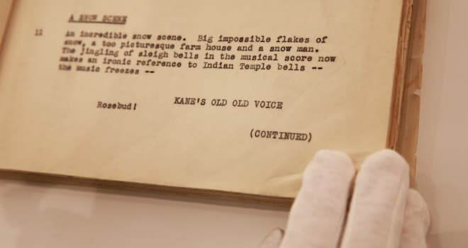 orson welles script