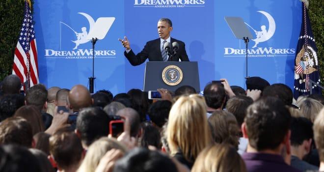 president obama dreamworks
