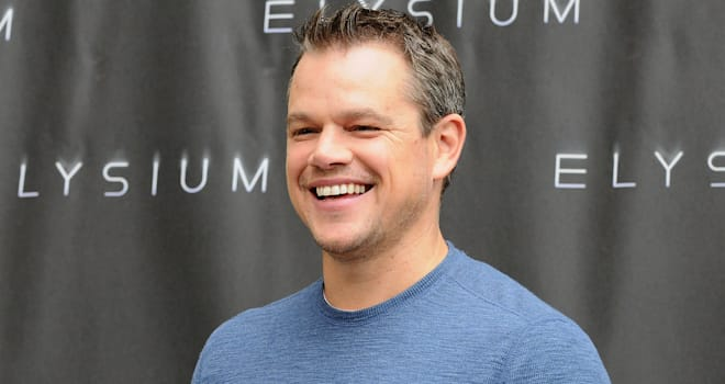 BEVERLY HILLS, CA - AUGUST 02:  Actor Matt Damon attends the 'Elysium' photo call at Four Seasons Hotel Los Angeles at Beverly Hills on August 2, 2013 in Beverly Hills, California.  (Photo by Jason LaVeris/FilmMagic)