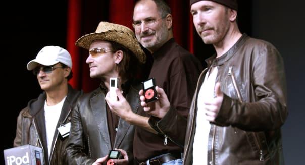 Apple Computer And U2 Celebrate New iPod Release