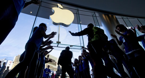 Apple starts to store user data on servers in China for first time