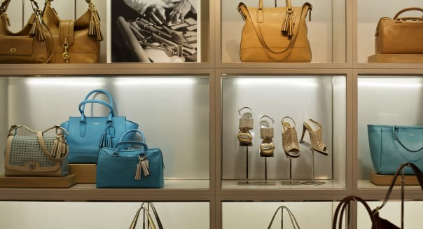 Inside A Coach Inc. Store As Retail Sales Unexpectedly Rise