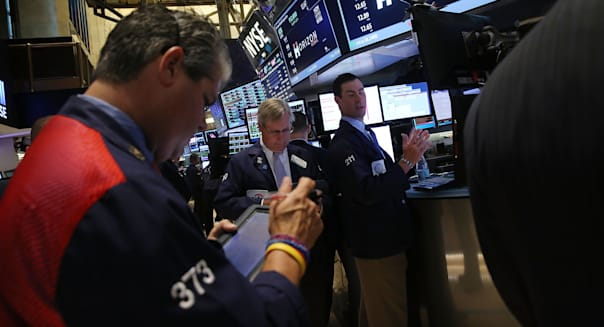 NYSE Reacts To Eurozone Bailout Deal With Greece