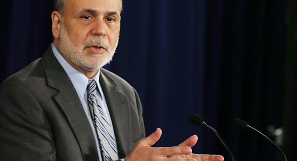 Ben Bernanke Holds News Conference After Fed Interest Rate Announcement