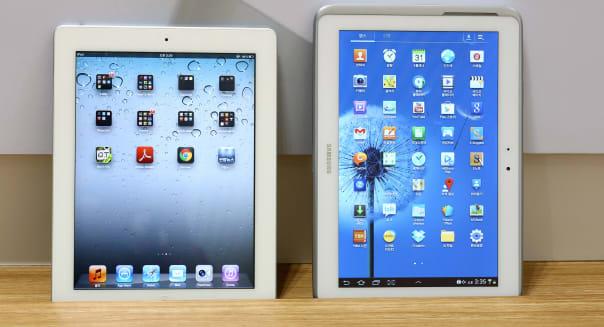 Apple ipad 2 samsung galaxy tab tablet computers international trade imports