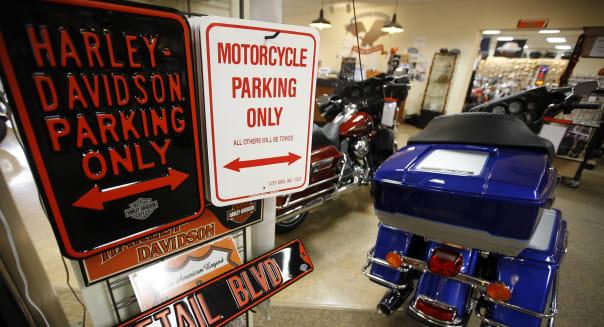 Earns Harley-Davidson