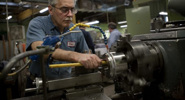 machinist mid-atlantic factory activity philadelphia federal reserve manufacturing