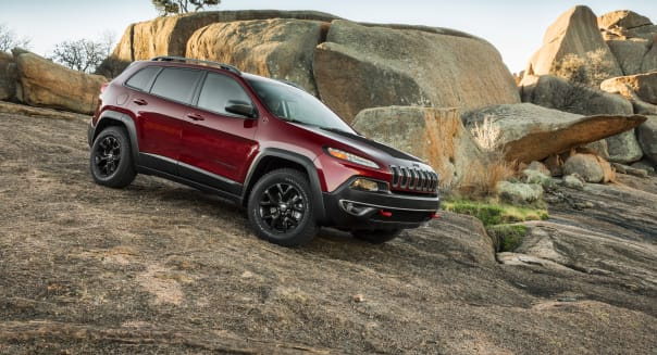 Chrysler 2014 Jeep Cherokee Trailhawk.