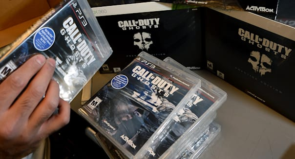 The New Call Of Duty Video Game Goes On Sale