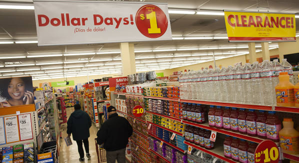 family dollar discount chain store consumer goods economy spending
