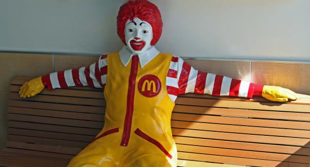 Inside A McDonald's Corp Restaurant