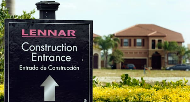 Home Builder Lennar Posts First Quarterly Profit In Two Years