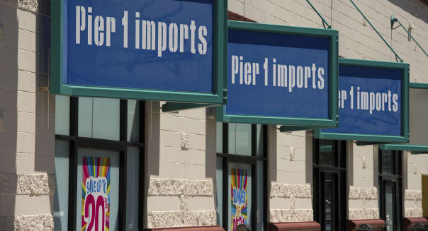 General Views Of Pier 1 Imports Inc. Stores Ahead Of Earns Figures