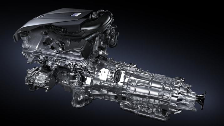 Lexus Multi Stage Hybrid powertrain