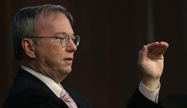 Google's Executive Chairman Eric Schmidt Discusses Disruption In Technology