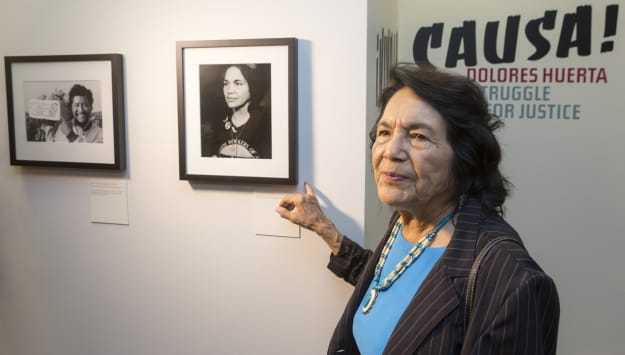 Dolores Huerta Exhibition