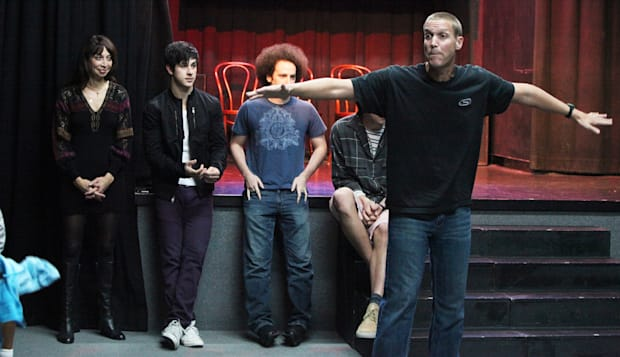 David Henrie Improv Class At Murrieta's bang Theatre In Los Angeles