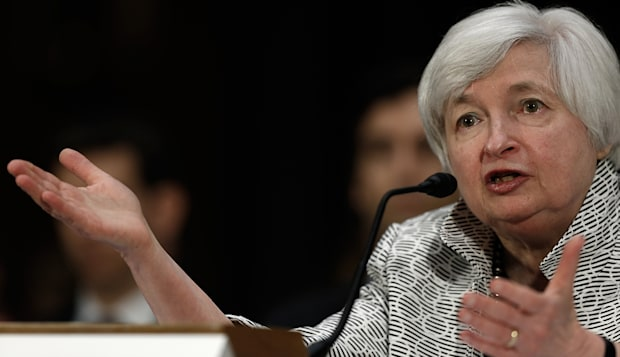 Fed Chair Janet Yellen Gives Semiannual Monetary Policy Report To Senate Committee