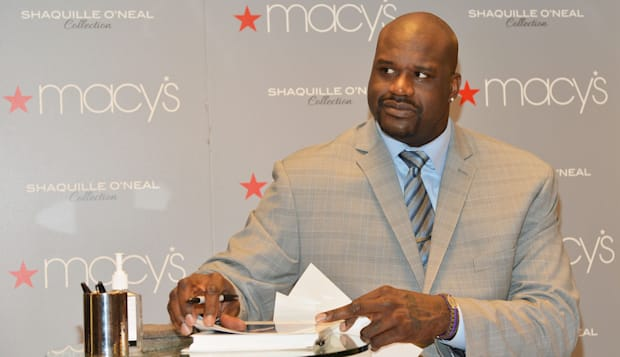 Shaquille O'Neal Visits Macy's Herald Square