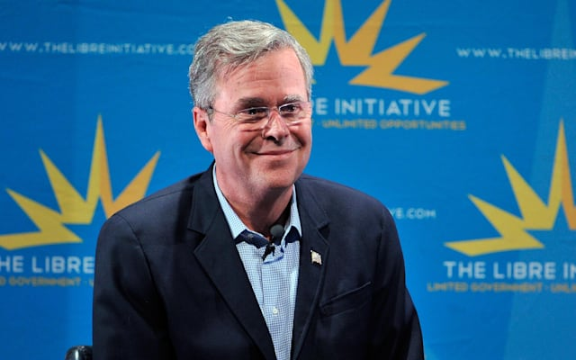 Jeb Bush Addresses LIBRE Initiative Forum In Nevada