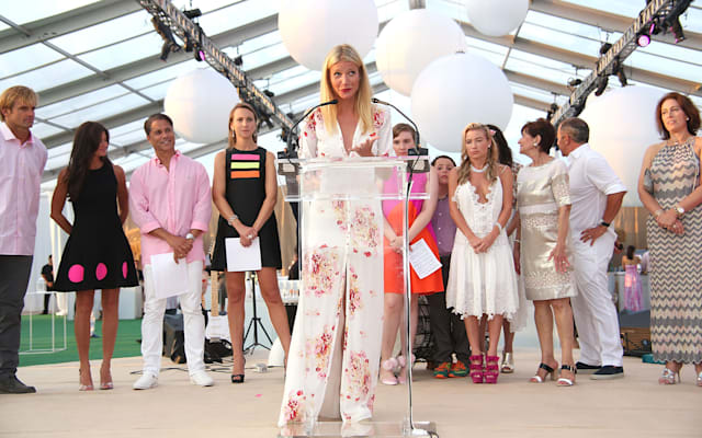 The Hamptons Paddle & Party for Pink 2015 - Paddle Race and Sunset Cocktail Party