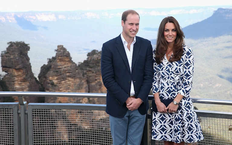 Duchess Kate stuns in DVF Wrap Dress