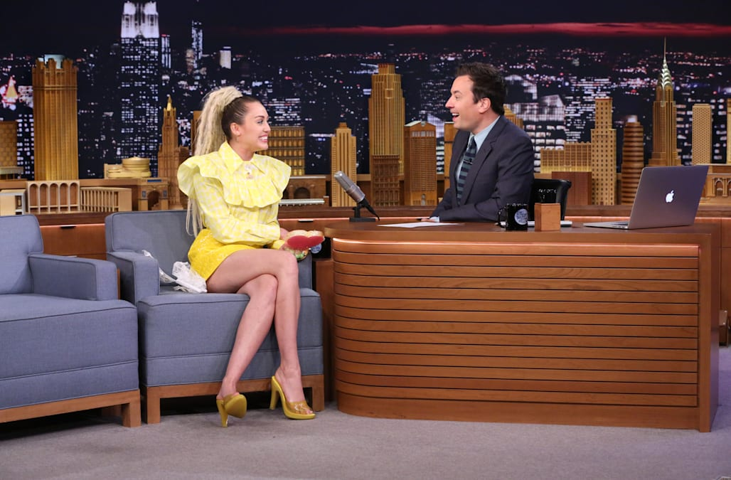 6b345b4c554 Miley Cyrus   emotional interview  with Jimmy Fallon makes us miss  Hannah  Montana
