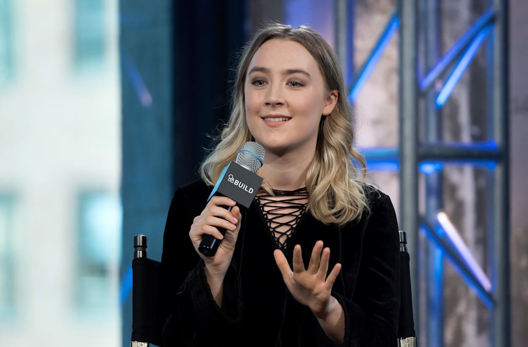 "AOL Build Presents Saoirse Ronan ""Brooklyn"""