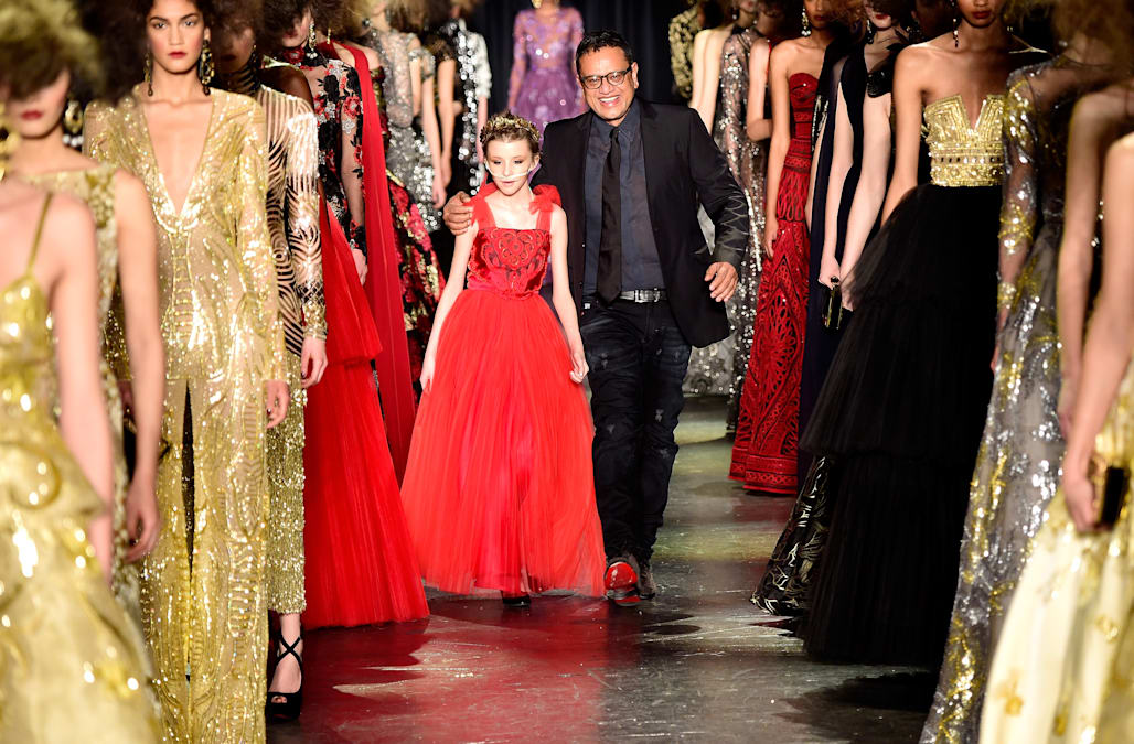 Naeem Khan - Runway - Fall 2016 New York Fashion Week: The Shows