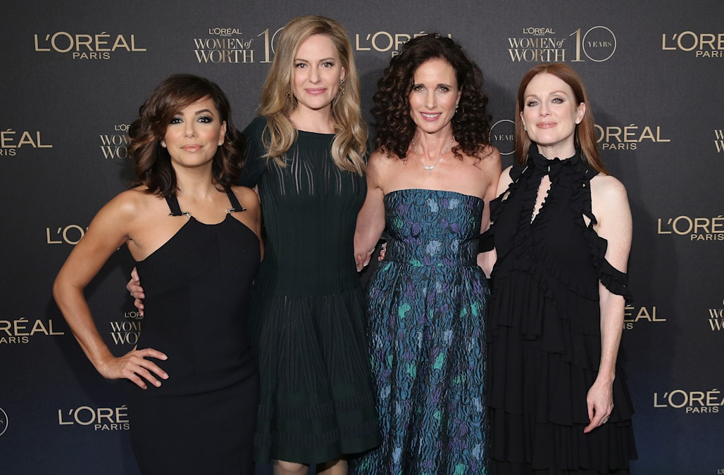 L'Oreal Paris Women of Worth 2015 red carpet