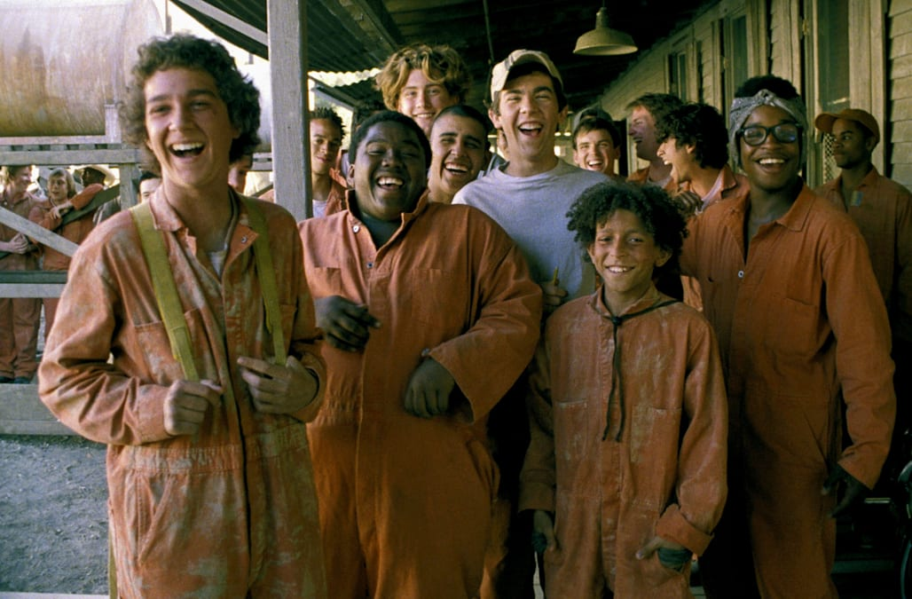 SHIA LABEOUF BYRON COTTON MAX KASCH MIGUEL CASTRO JAKE M. SMITH KHLEO THOMAS & BRENDEN JEFFERSON HOLES (2003)