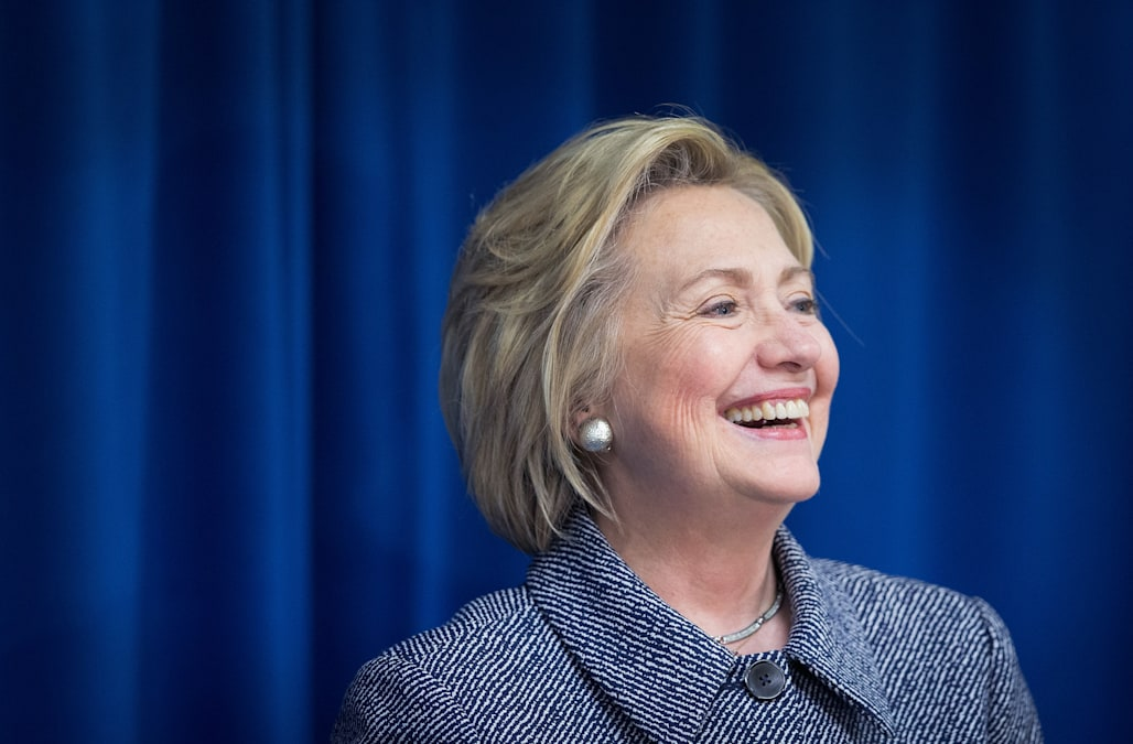 Democratic Presidential Candidate Hillary Clinton Campaigns In Bettendorf, Iowa