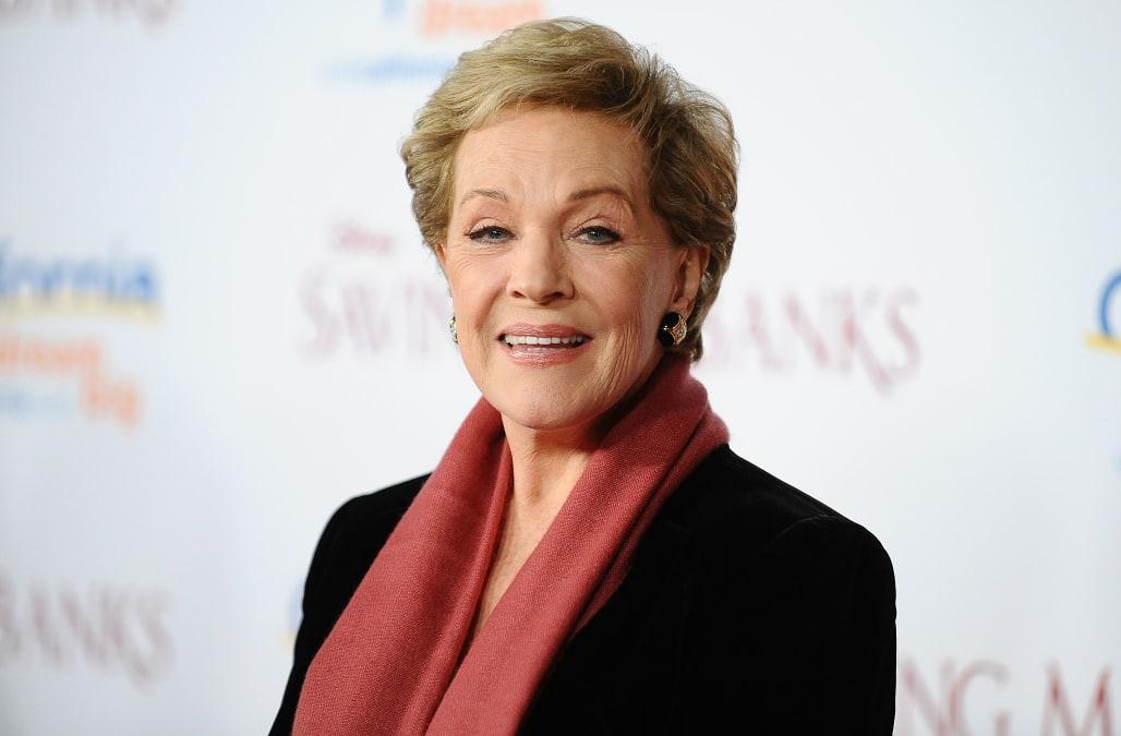 Julie Andrews turns 80 years old