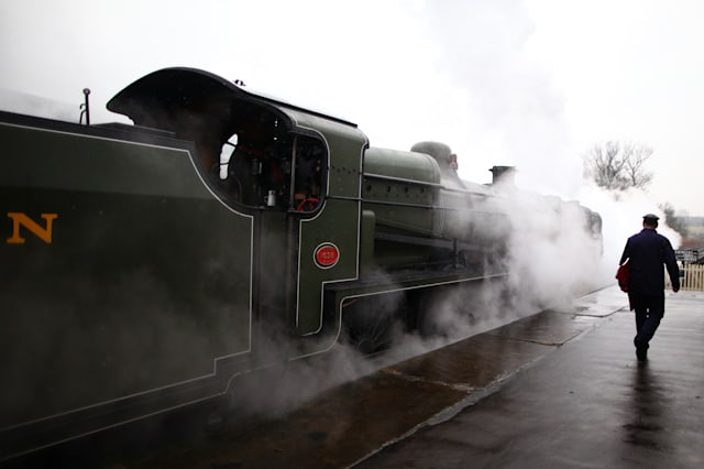 Trains Run Along The Newly Reinstated Bluebell Railway Line To East Grinstead For First Time In 55 Years