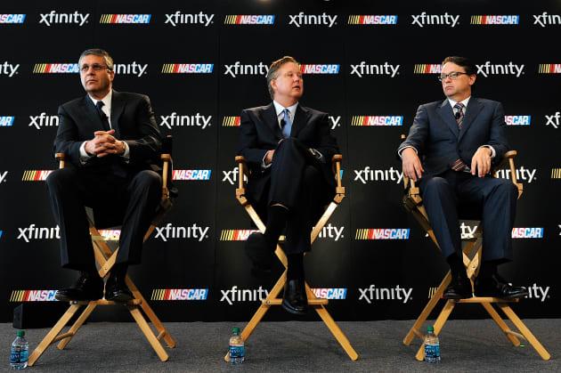 NASCAR Series Partnership Announcement