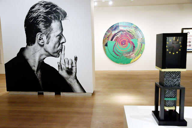 David Bowie's art collection hits the auction block