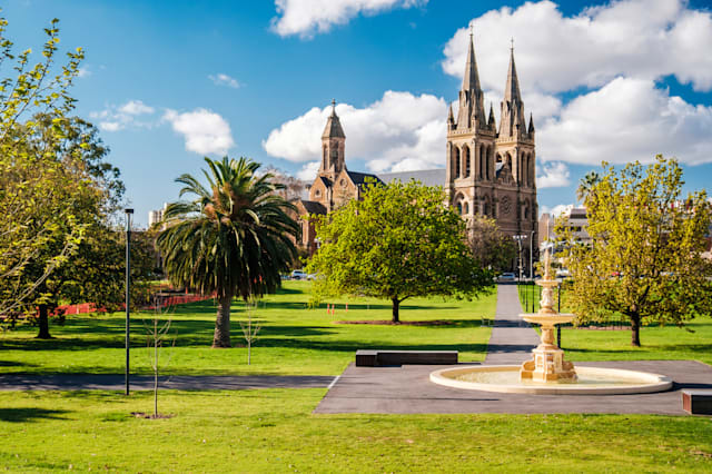 St. Peter's Cathedral in Adelaide