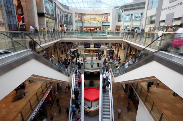 Inside Hammerson Plc's Bullring Shopping Center As U.K. Consumer Confidence Declines
