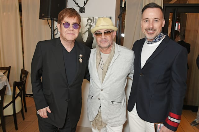 Elton John's 'The Cut' Lunch And World Premiere Screening Event With YouTube At The Cannes Film Festival
