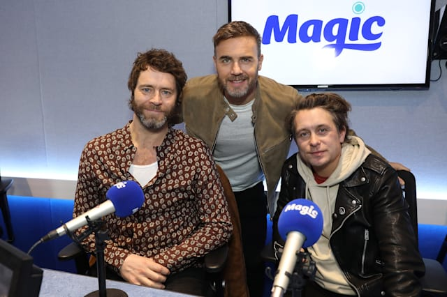 Take That Visit The Magic Radio Studios