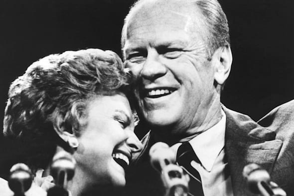 Gerry And Betty Ford