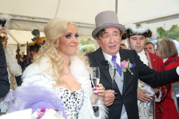 Wedding Of Richard Lugner And Cathy Schmitz