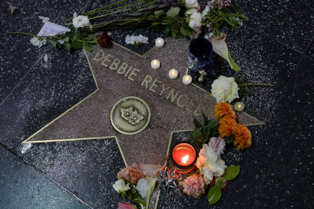 Debbie Reynolds Remembered On The Hollywood Walk Of Fame