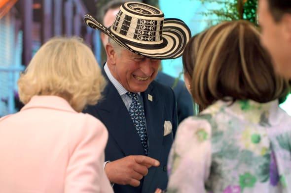 Prince Charles dresses up as cowboy